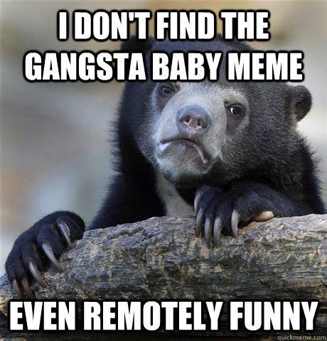 Gangster Baby Meme - funny gangster baby meme