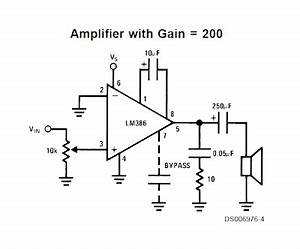 regnarts audio amplifier lm386 With bread board circuit