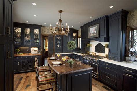 elegant black kitchen design kitchen cabinets