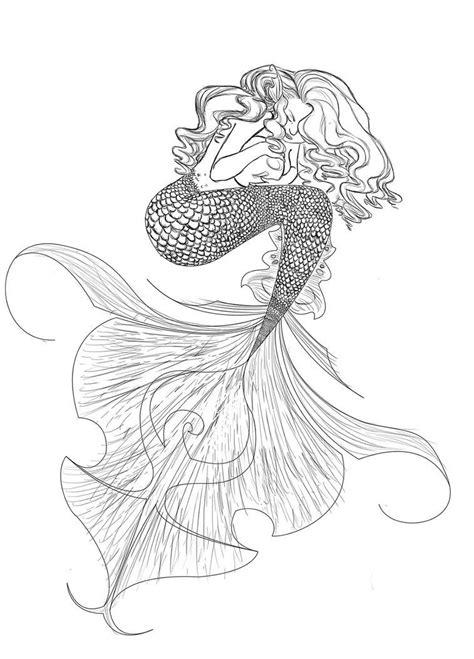 mermaid drawing tumblr mermaid drawing tumblr