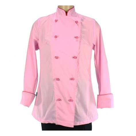 femme en cuisine veste de cuisinier pour femme et fuchsia lisavet