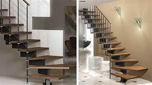 Prix Escalier Beton : dossier l 39 escalier en kit ~ Mglfilm.com Idées de Décoration