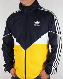 Adidas Originals Colorado Windbreaker Navy/Yellow,jacket ...