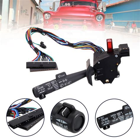 repair windshield wipe control 2002 mitsubishi galant instrument cluster turn signal cruise control windshield wiper arm lever switch for chevy gmc 98 04 ebay