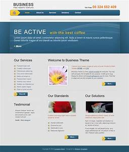 business template free html css templates With free html web templates
