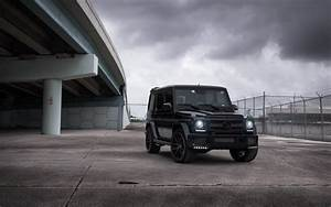 Mercedes Benz G63 Amg Black Wallpaper