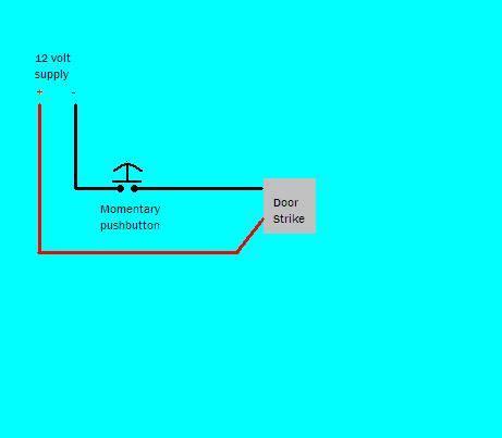 electric door strike wiring help electrical diy