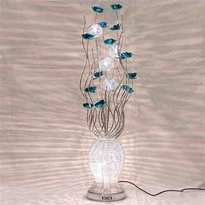 Metal flower floor lamp decor ideasdecor ideas for 7 flower metal floor lamp