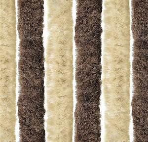 Vorhang Für Terrassentür : arisol chenille flauschvorhang 100x200cm braun beige ~ Watch28wear.com Haus und Dekorationen