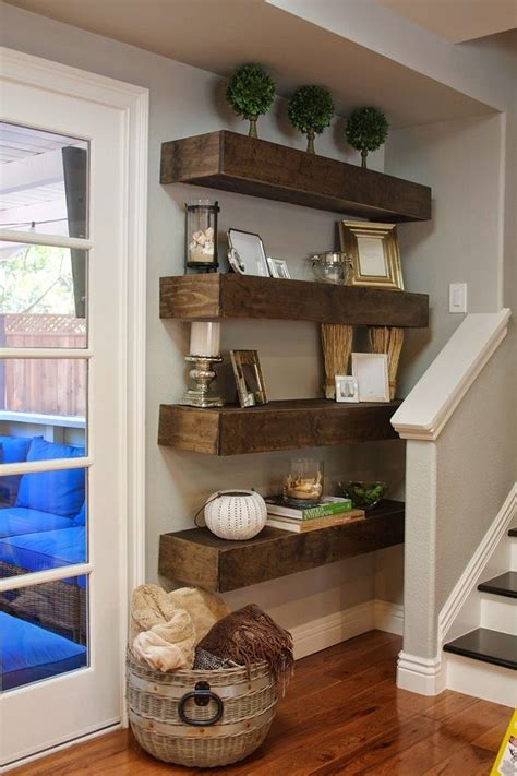 wall shelves ideas simple and stylish diy floating shelves for your home Diy