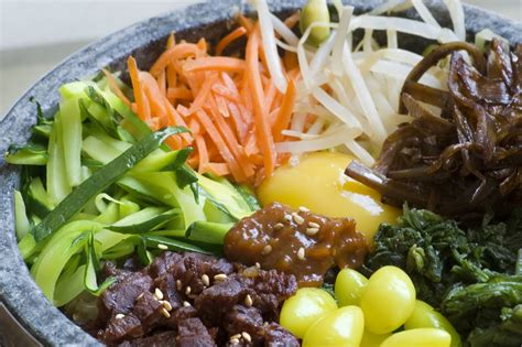 cuisine coreenne cuisine coréenne le bibimbap 비빔밥 kimshii