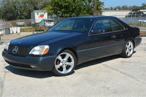 They also come in coupe and convertible form, outfitted with. 1996 Mercedes Benz S600 Coupe 2 Door 6.0L for sale