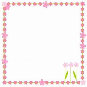 free digital flower border scrapbooking elements - Clipart ...