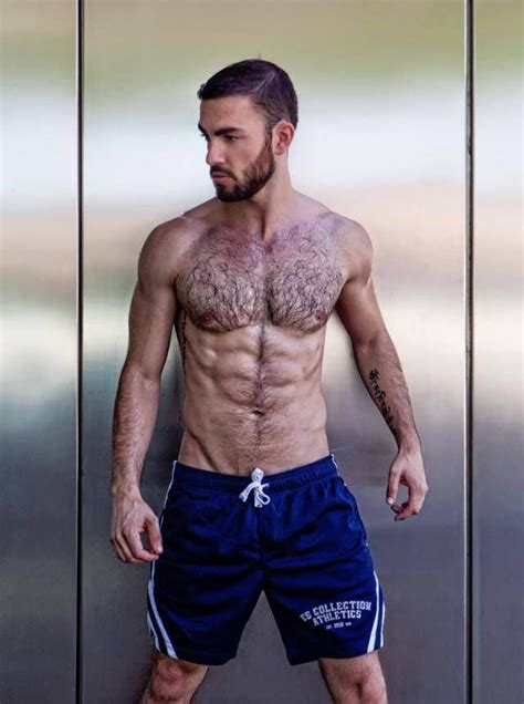 Pin on Hairy sexy muscle men
