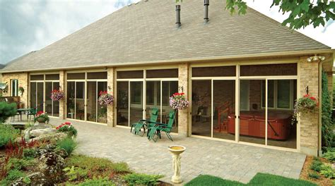sunrooms and patios collection porch enclosures and additions patio enclosures