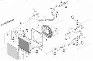 Arctic Cat Side By Side 2008 Oem Parts Diagram For Cooling