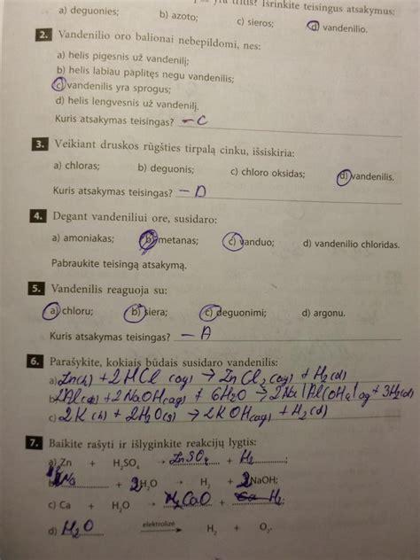 Nemetalų chemija 10 klasei 1 dalis - Pratybosnemokamai.lt