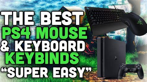 ps mouse  keyboard fortnite keybinds