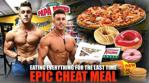 I Ate Everything I Wanted For One Hour… (final Cheat Meal