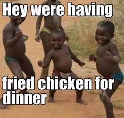 Black People Fried Chicken Meme