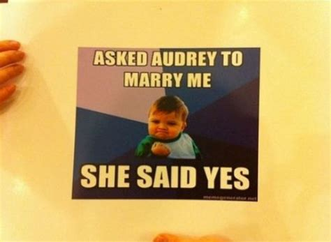 Proposal Meme - awesome marriage proposal done with memes 21 pictures funny pictures quotes pics photos