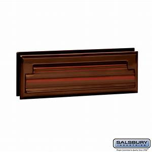 salsbury industries 4035a mail slot standard letter size With letters mail slot