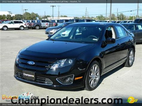 Black Ford Fusion by 2012 Ford Fusion Se Black Charcoal Black Photo 1