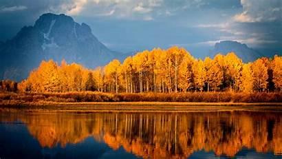 Autumn Wallpapers Lake Mountains Trees 1080 1920