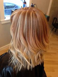 Brown Hair With Light Ash Highlights To Strawberry Reverse Ombre Strawberry