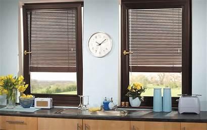 Blinds Kitchen Wooden