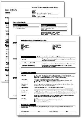 tila respa integrated disclosure part    loan