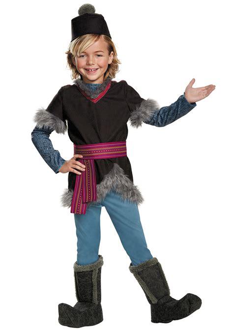 child frozen kristoff deluxe costume