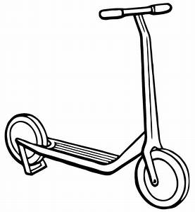 Free Vector Art: Scooter | Images from Ephemeraphilia.com ...