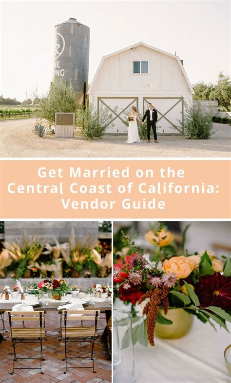 Want to Get Married on the Central Coast of California? We