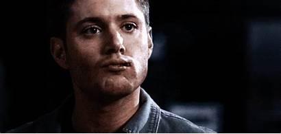 Stare Jensen Strip Ackles Supernatural Gifs Chew