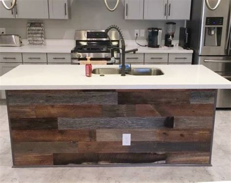 Wood Planks For Kitchen Island