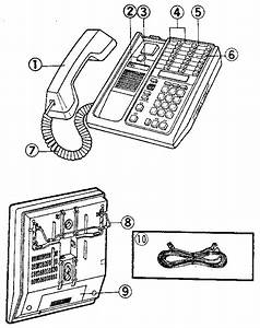 Dial Phone Parts Diagram