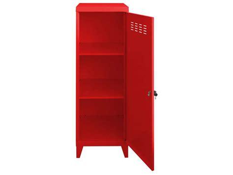 Meuble Casier Escalier Conforama by Casier New Line Coloris Rouge Vente De Accessoires De