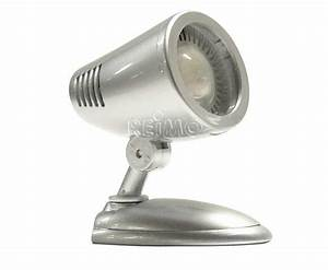 Led Spot 12v : power led 12v aufbau spot 3 watt 250 lumen silber mit schalter ~ Watch28wear.com Haus und Dekorationen