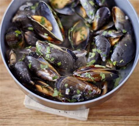 mussels white wine parsley bbc good food