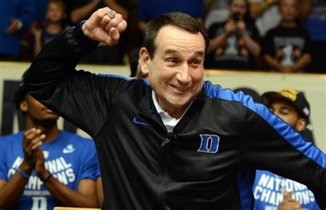 To K by Mike Krzyzewski Still Gets Giddy When He Talks About The