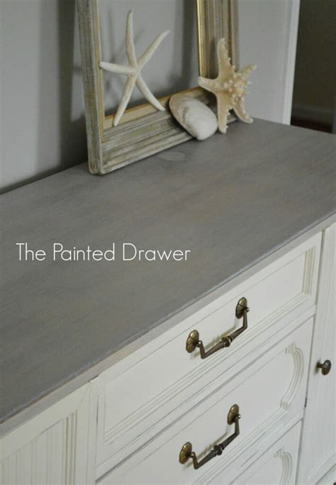 gray wood stain   options  painted drawer
