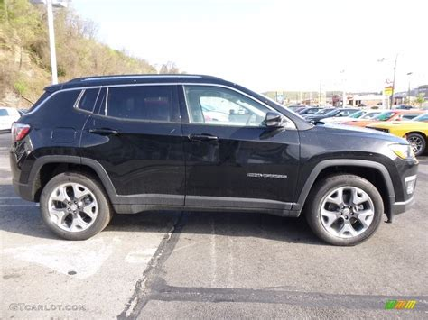 jeep compass all black 2017 black 2017 jeep compass limited 4x4 exterior photo