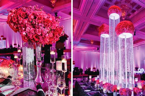 Tall Bling Centerpieces Amazing Arrangement Of Tall