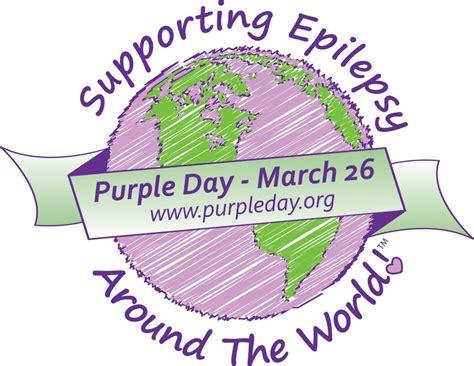 purple day national awareness days calendar uk