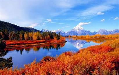 Autumn Desktop Scenes Scene Fall Background Wallpapers