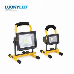 Luckyled w floodlight rechargeable led flood light