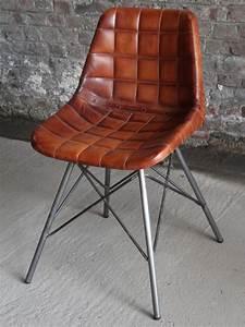 Chaise Vintage Cuir : chaise bureau vintage ~ Teatrodelosmanantiales.com Idées de Décoration