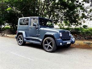 Stunningly Modified Mahindra Thar To Wrangler Jeep Mumbai ...