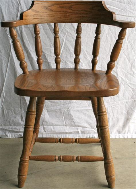 solid wood commercial dining captains chair from
